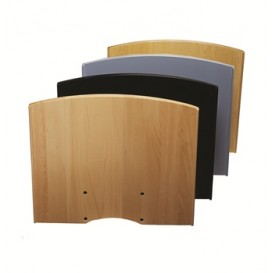 Flatscreen shelf M/L Black