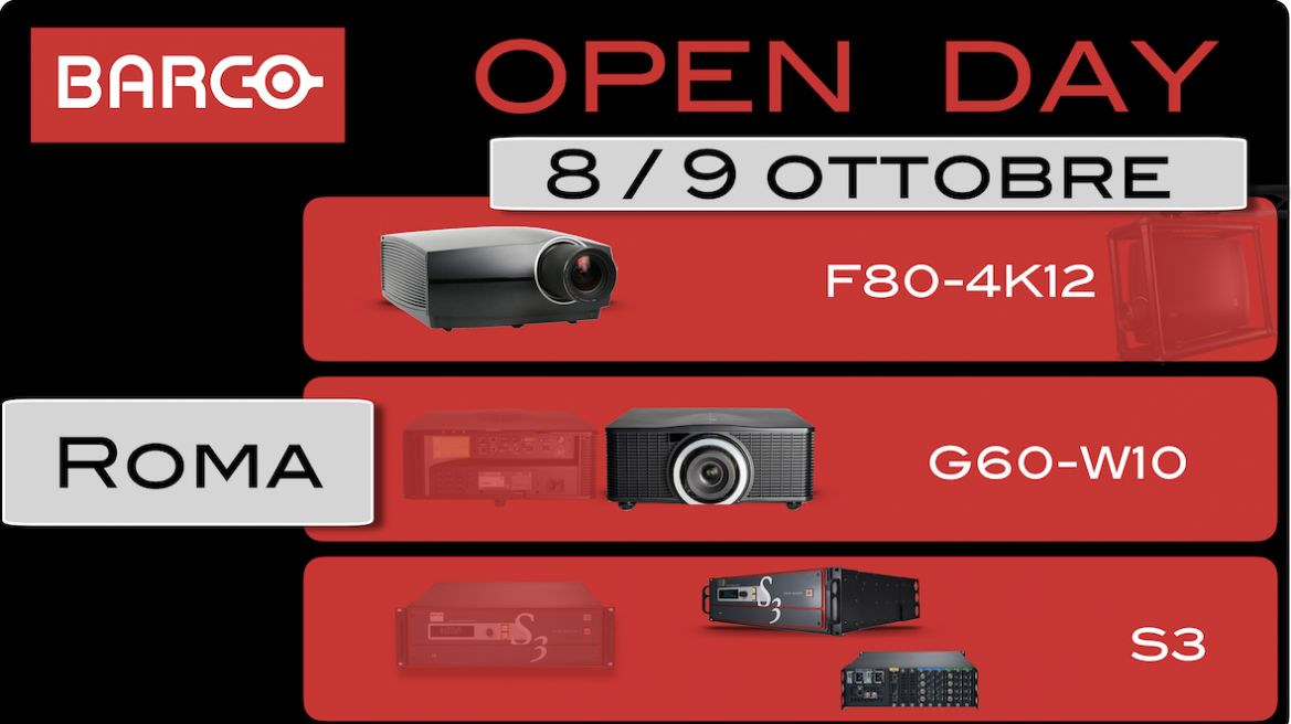 Barco Open Day