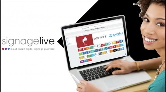 SignageLive: software per digital signage