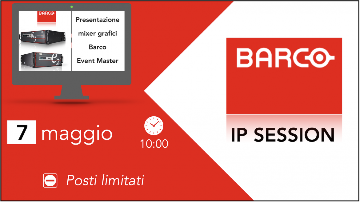 Webinar Barco IP: Event Master