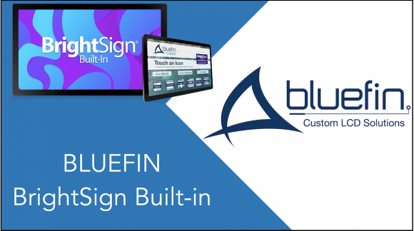 Bluefin: display LCD HD